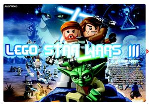 Lego Star Wars III : The Clone Wars [3DS]