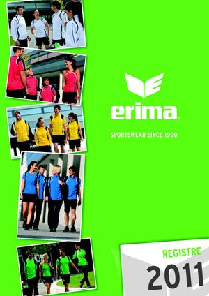 Catalogue Erima