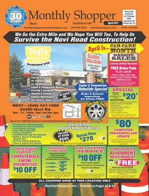Novi Monthly Shopper April 2011