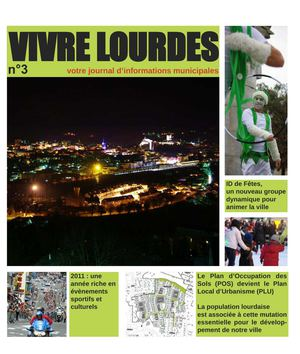 Vivre Lourdes N°3 - Journal d'informations municipales