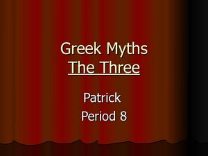 The Three By Patrick