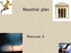 Bourinis' Plan by Remy