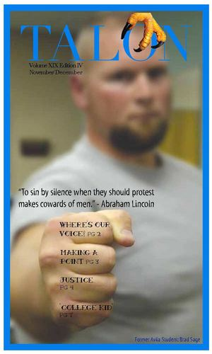 Talon News Magazine {Student Voices Must Be Heard} Nov/Dec 2010