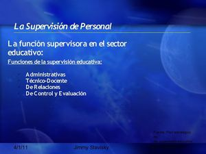 Supervision Educativa en Venezuela