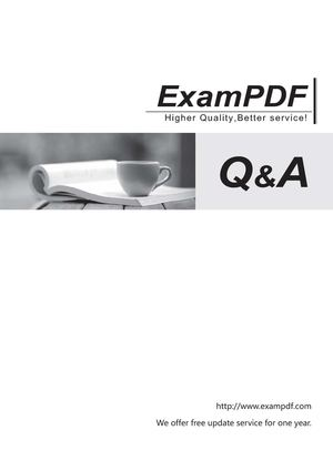 Free Exampdf ST0-095 questions