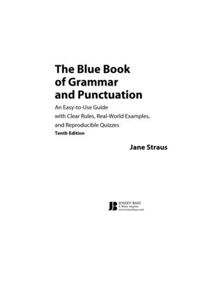Book of Grammar and Punctuation