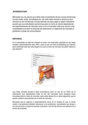 introduccion y editorial (mercadeo)