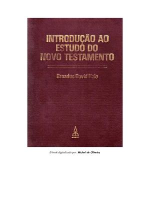 Calamo broadus david hale introduo ao estudo do novo testamento broadus david hale introduo ao estudo do novo testamento fandeluxe Gallery