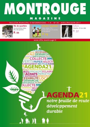 Montrouge Magazine n°92 - avril-mai 2011