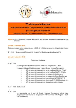 Workshop Coop.ne Territoriale_Programma_DEFINITIVO