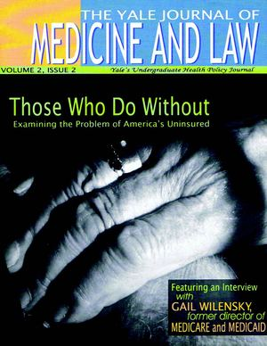 Yale Journal of Medicine and Law, Vol. 2, issue 2