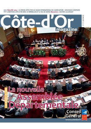 Côte-d'Or magazine n°111 - Avril-Mai 2011