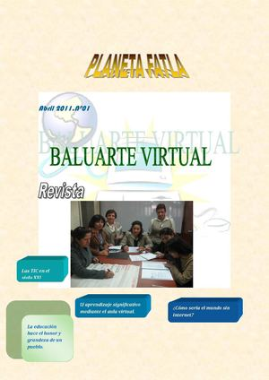 "Revista:""Baluarte virtual"""