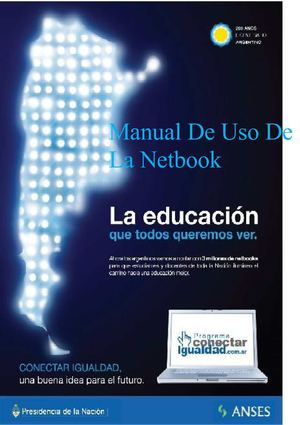 Manual de usuario de la Netbook