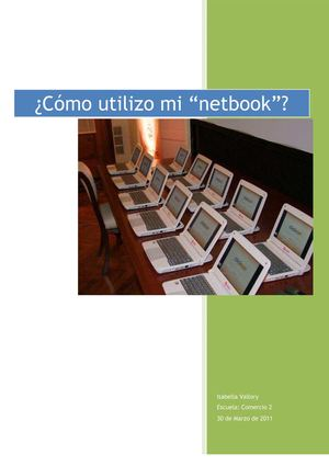 Manual de instrucciones: Netbooks