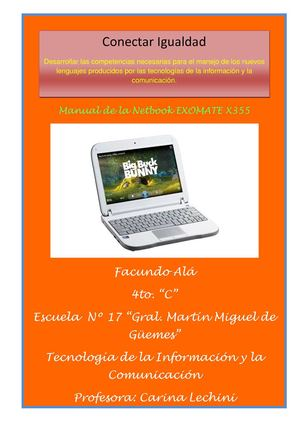 Manual de la Netbook - Facundo Alá