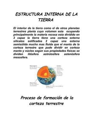 Calaméo Estructura Interna De La Tierra