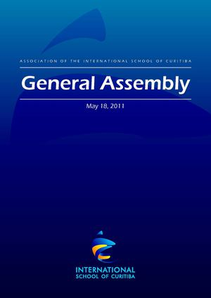 ISC General Assembly Report, May 2011