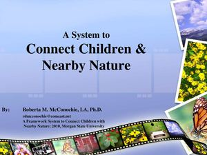 NY: Connecting Children with Nature - Rain Gardens and Community Gardens