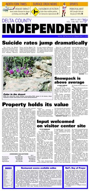 Delta County Independent, Issue 18, May 4, 2011