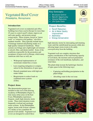 PA: Philadelphia: Green Roof Demonstration Project