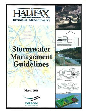 Canada: Halifax: Stormwater Management Guidelines