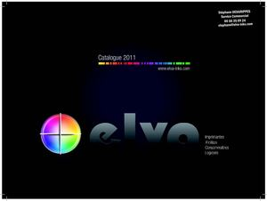 Catalogue Elva-inks
