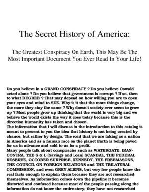 Calaméo - [ebook] Politics - Conspiracy - The Secret History