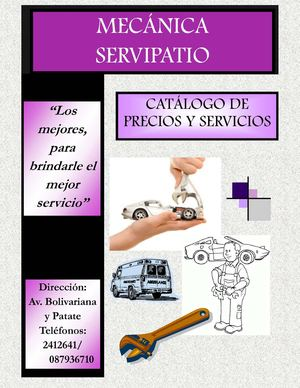 Catalogo Servipatio