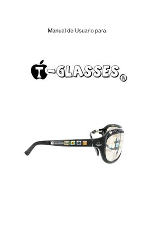 Manual de Usuario para T-Glasses