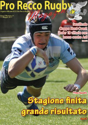 Pro Recco Rugby Magazine 21/10