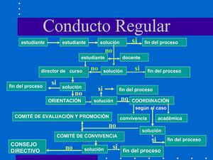 Conducto Regular