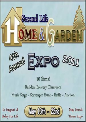 Home and Garden Expo 2011 in Second Life