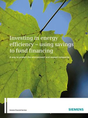 Siemens - Using savings to fund financing