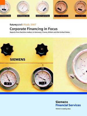 Corporate financing in focus