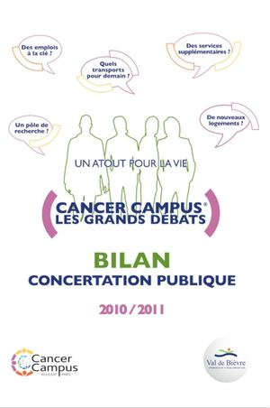 2011 Livret du DVD Concertation Cancer Campus