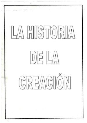 Calaméo Historia De La Creación Para Colorear