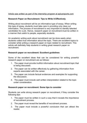 how to write discussion in research paper