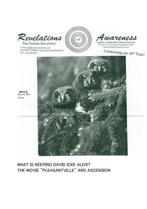 "Cosmic Awareness 2011-05: What Is Keeping David Icke Alive? The Movie ""Pleasantville"" And Ascension"