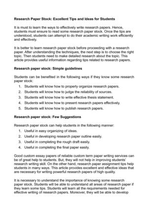 social work research paper topic ideas