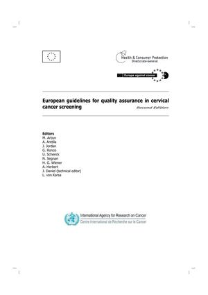 Calaméo - European guidelines for quality assurance in cervical ...