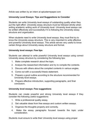 York university essay writing help