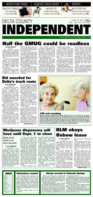 Calamo Delta County Independent Issue 24 June 15 2011