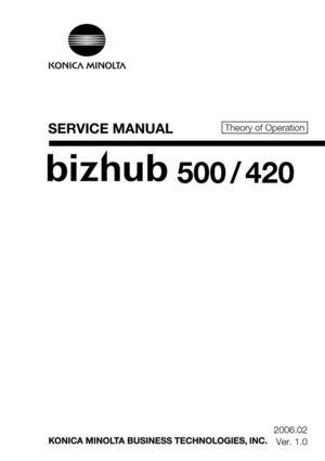 calam o bizhub 420 500 rh calameo com bizhub 500 service manual bizhub 750/600 field service manual