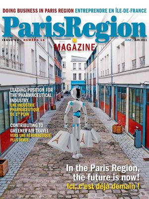 Paris Region Magazine / Doing Business in Paris Region - issue 14