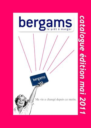 Catalogue bergams - édition juin 2011