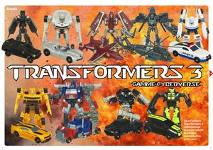Transformers 3 : gamme Cyberverse