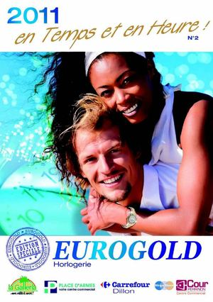 Catalogue horlogerie Eurogold Martinique
