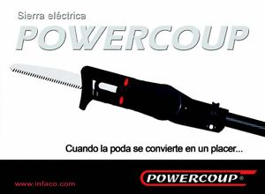Infaco Powercoup electric saw - ESPAGNE