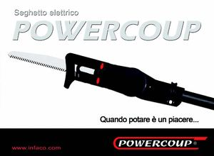 Infaco Powercoup electric saw - ITALIE